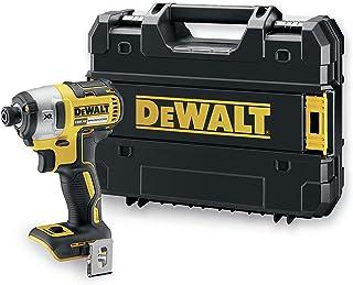 DEWALT DCF887NT-XJ Brushless Impact Driver for XR 18V, 400 W, 18 V, Black/Yellow