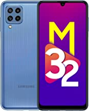 Samsung Galaxy M32 Light Blue 4GB RAM 64GB Storage INR 1250 Off with ICICI Credit and Debit Cards 6 Months Free Screen Replacement for Prime
