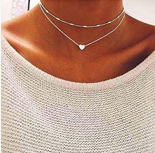 Leonardo Jewels Matrix Halskette Lang Hals Kette Halsband Schmuck Schwarz 100 cm