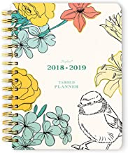 Hard Cover Weekly Planner, Personal Organizer, January - June 2019 by Shiplies