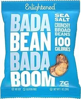 Enlightened Bada Bean Bada Boom Roasted Broad Beans Sea Salt, 28 gm (Pack of 6)