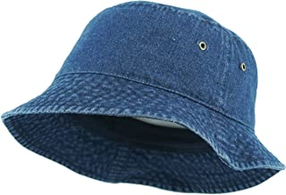 KBETHOS Unisex 100% Washed Cotton Bucket Hat Summer Outdoor Cap