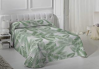 Vialman Colcha Bouti Ligero, Verde, 150x190 cm