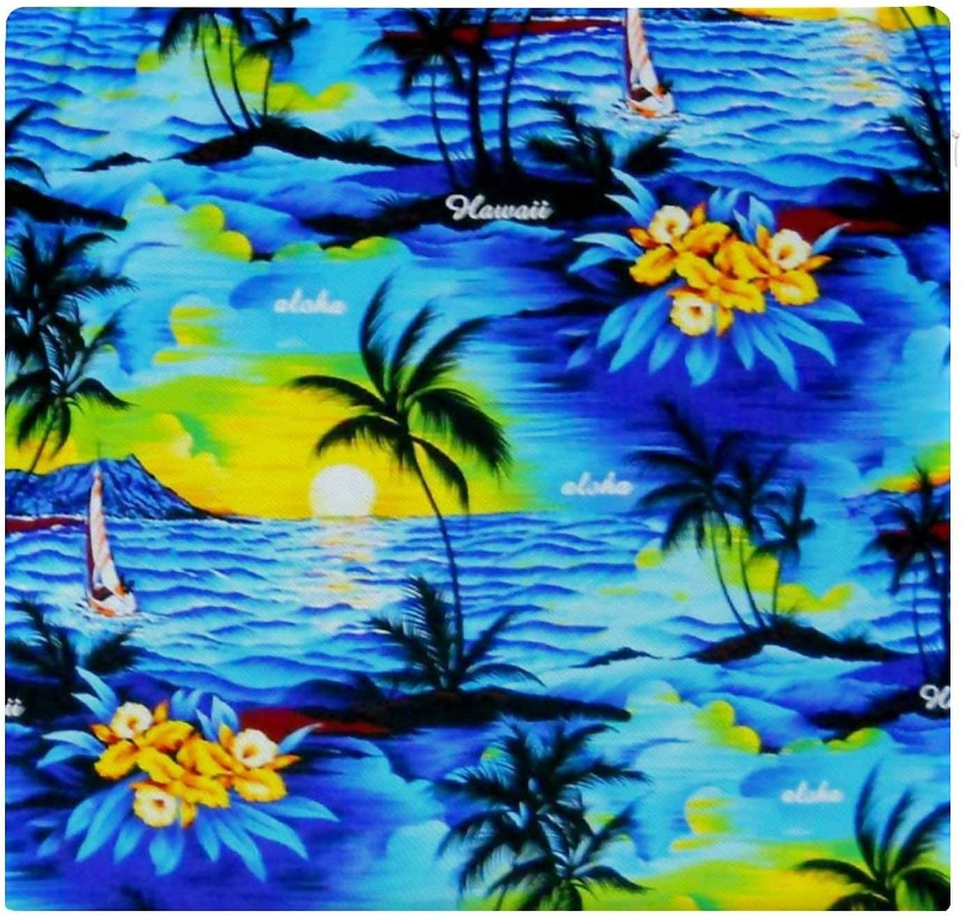 Ranking TOP19 Chair Pad Hawaii Trees Max 43% OFF Flower Bench Car Soft Pillow Seati Chairs