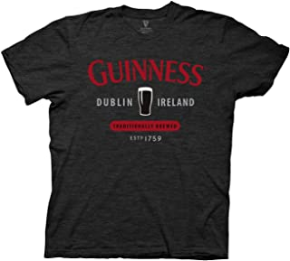St Paddy`s Day Guinness Red Logo Mens T-Shirt