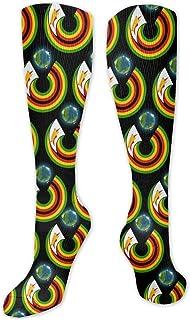 MISS-YAN, Calcetines para hombre y mujer, diseño de bandera de Zimbabwe