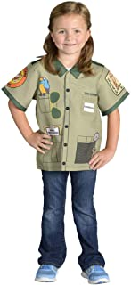 Aeromax My 1st Career Gear Zoo Keeper Top Green, One Size