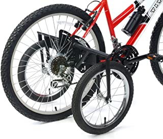 """BIKE USA Heavy-Duty Stabilizer Wheels for Adult Bicycles, The Original Training Aid for Full Size Bikes with a 24"""" to 27"""" ..."""