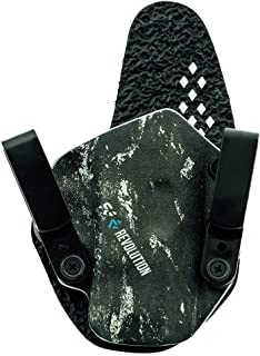 StealthGearUSA SG-Revolution Appendix Hybrid Holster - Tuckable, Adjustable, Inside Waistband Concealed Carry Holster - Made in USA