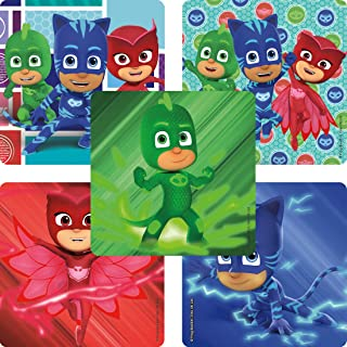 SmileMakers PJ Masks Stickers - Prizes 100 per Pack