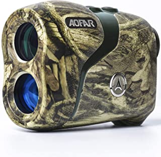 AOFAR HX-800H Hunting Range Finder 800 Yards, Wild Waterproof Coma Rangefinder for Shooting and Archery with Angle and Hor...