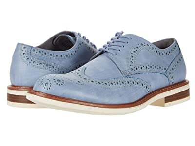 Kenneth Cole Reaction Klay Flex Lace-Up D (Light Blue) Men