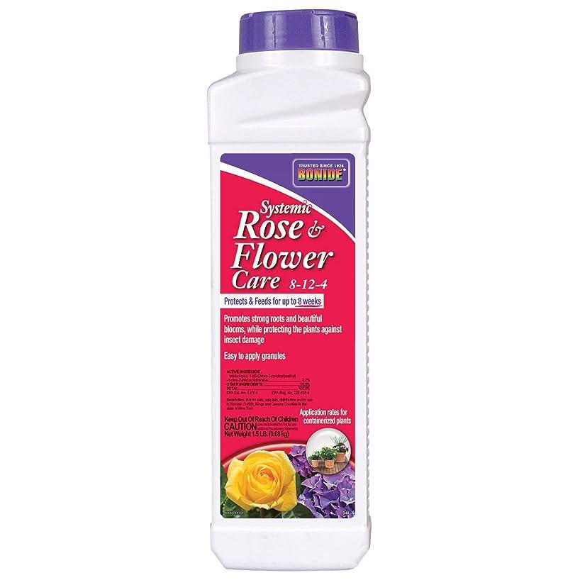 Bonide Granular Systemic Rose and Flower Care Fertilizer, 2 lb