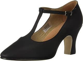 black t bar dance shoes
