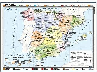 Amazon.es: poster mapa españa