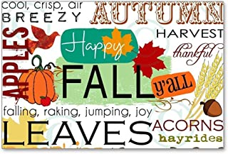 CafePress - Autumn Subway Art - Postcards (Package of 8), 6