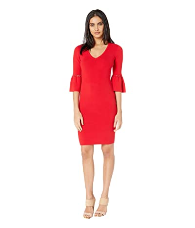 Trina Turk Blues Dress (Lacquer Red) Women