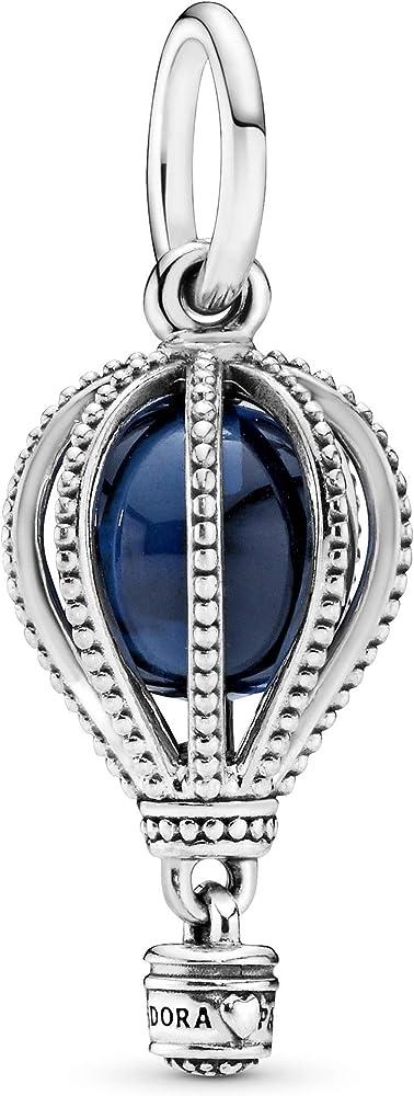 Pandora ciondolo donna argento stearling 925 porta charm 798064NMB