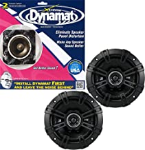 "$59 » KICKER Bundle of 2 Items 43DSC504 5-1/4"" 2-Way DS Series Car Speakers w/Dynamat Xtreme Speaker Kit 10415"
