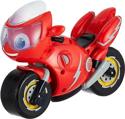 Ricky Zoom- Tomy Lumières Ricky Grande Moto Jouet avec 8 Sons Et Phrases-Figures d'action pour Les Enfants-pour Les G...