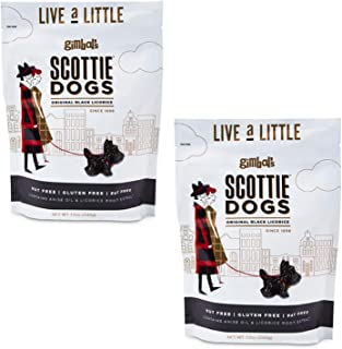 Gimbal's Licorice Scottie Dogs, 12 Ounces (2 Pack)