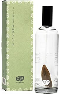Whamisa Organic Flowers Olive Leaf Mist 3.3 Fl Oz - Instant Refreshing Hydration - Naturally Fermented and Vegan - Korean ...