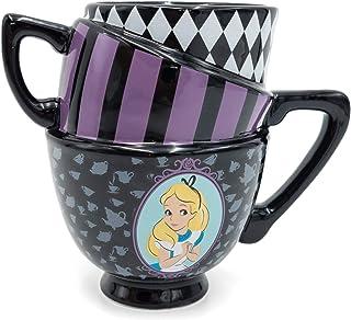 SILVER BUFFALO Disney Alice in Wonderland Cheshire Cat 3D Sculpted Ceramic Mug 20-ounces AW8295B