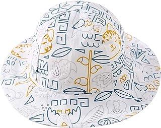 pureborn Baby Hat Infant Boys Girls Sun Hats Bucket Breathable Sun Hat Cotton