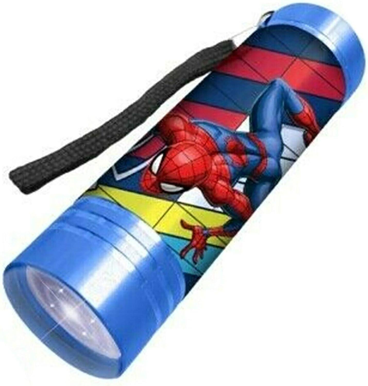 Blau Wandern Spiderman f/ür Jungen ab 3 Jahren Hovuk/® Kinder-Taschenlampe mit Disney-Charakteren 9 LEDs Aluminium ideal f/ür Camping superhell Garagen und allgemeine Heimwerker