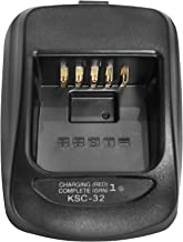 GSTZ KSC-32 Battery Charger Base without Power Supply for Kenwood TK-2180 TK-2260 TK-3180 TK-3260 TK-5210 TK-5220 TK-5310 TK-5320 TK-5410 NX300G NX410 NX411 NX5200 NX5300 NX5400 Portable Radio