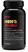 GNC Mens Arginmax, Sexual Health Formula for Men - 180 Caplets