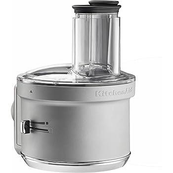 KitchenAid KSM2FPA Food Processor Attachment, Dicing Kit, Silver