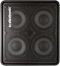 TC Electronic RS 410 Bass Cabinet with 4x10 Woofers Plus 1 Tweeter Rated 600W at 8 Ohms