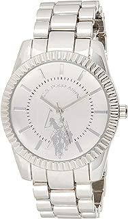 Women's Analog-Quartz Watch with Alloy Strap, Silver, 8...