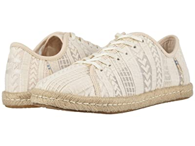 TOMS Lena (Natural Arrow Embroidered Mesh) Women