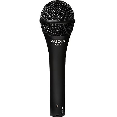 AUDIX (オーディックス) ボーカル向け ダイナミックマイク ハイパーカーディオイド OM6 【国内正規品】