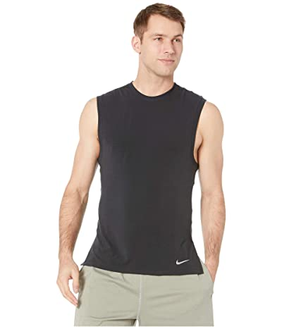 Nike Dry Tank Transcend (Black/Dark Grey) Men