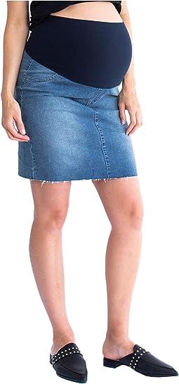 Maternity Denim Skirt