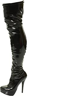 botte cuir latex sexy