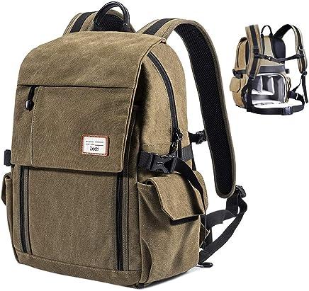 Zecti Camera Backpack Waterproof Canvas DSLR Camera Bag...