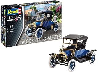 Revell 07661Maquette de voitureFord T Roadster (1913), échelle : 1/24, multicolore
