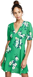 free people green dress