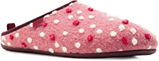 Andres Machado Unisex Home Slippers for Men and Women - Summer and Winter - Dynamic - Made of Wool and Felt - with Non-Sli...