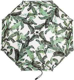 ZCLADLY Women's Creative Vinyl Sunscreen UV Umbrella 3 (Color : Green)