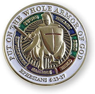Emblematic Jewelry Armor of God Lapel Pin (Value Pack) (1 Pin)