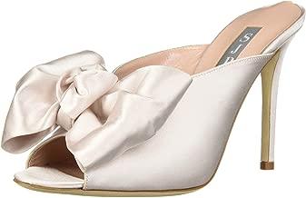 SJP by Sarah Jessica Parker Women's Vesper Peep Toe Bow Mule Pump
