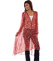 Victoria Swiss Dot Printed Duster
