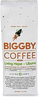BIGGBY LIVING HOPE UBUMI Ground Coffee, 12 oz bag