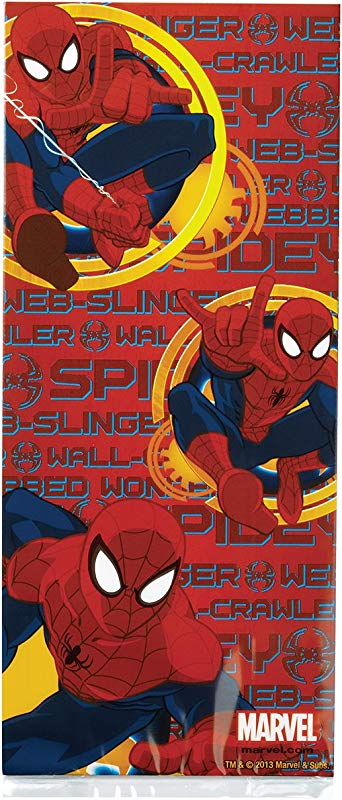 Wilton Treat Bags 4 By 9 5 Inch Spider Man 16 Per Package
