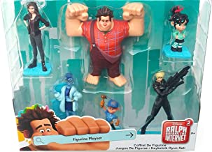 Disney Collection Wreck-It Ralph 2 Figure Play Set 6 Pieces